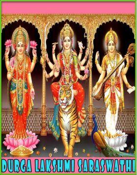 Evvaru Ee Muvvuru - Durga Lakshmi Saraswathi
